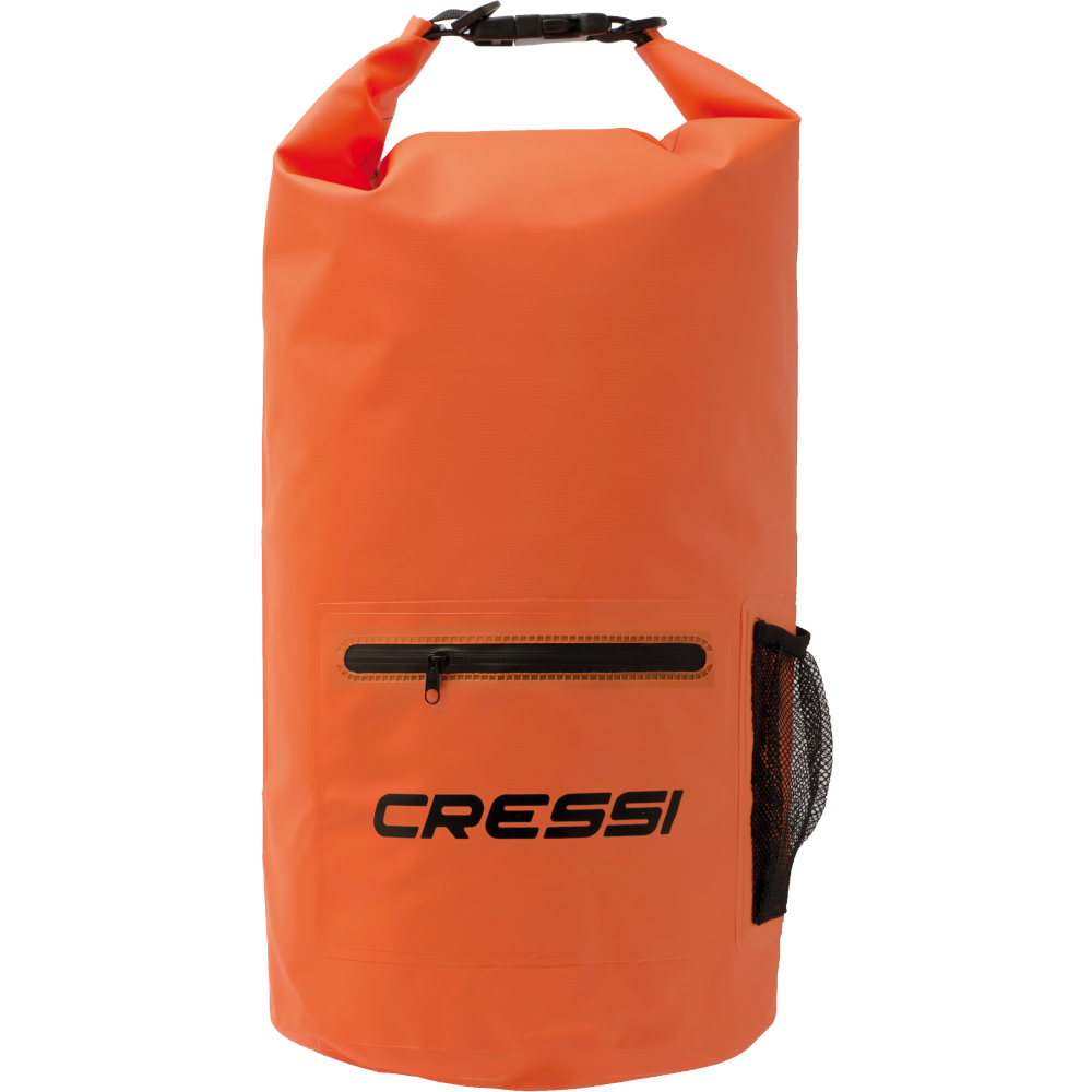 APOSTOLIDISDIVE CRESSI Dry Bag With Zip 20LT-Orange-front